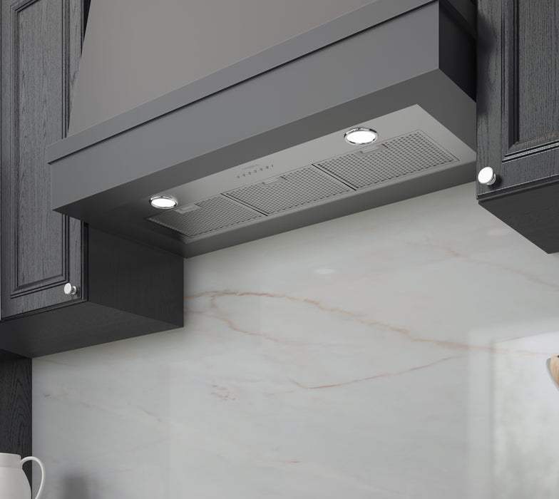 Ancona 36 in. Built-in BN636 620 CFM Ducted Range Hood with Night Light Feature