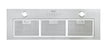 Ancona Inserta III 36 in. Built-in Range Hood with Night Light Feature in Stainless Steel