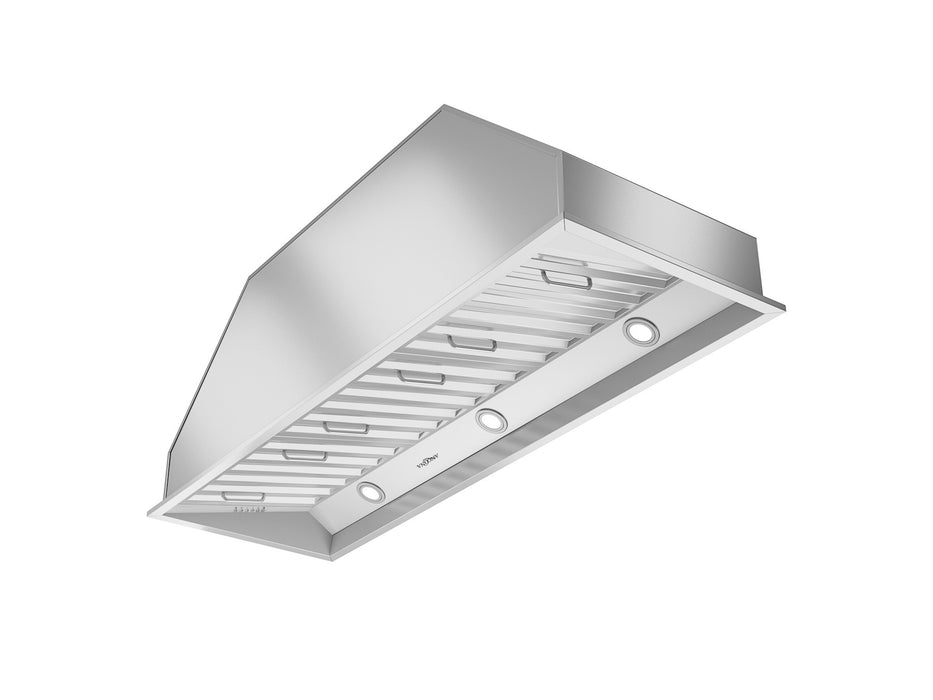 Pro Insert 48 in. Range Hood with LED lights