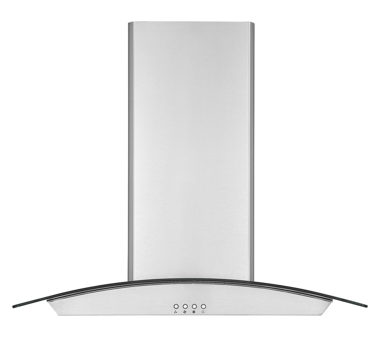 Ancona IGCC630 30 in. Island Glass Range Hood in Stainless Steel