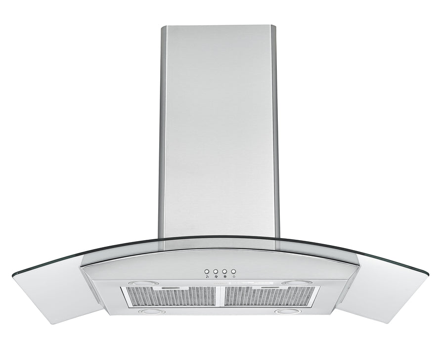 IGCC636 36 in. Island Glass Range Hood in Stainless Steel