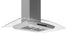 Noturna IG 36 in. Island Glass Range Hood in Stainless Steel with Night Light Feature