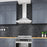 WPS630 30 in. Wall Mount Pyramid Range Hood in Stainless Steel