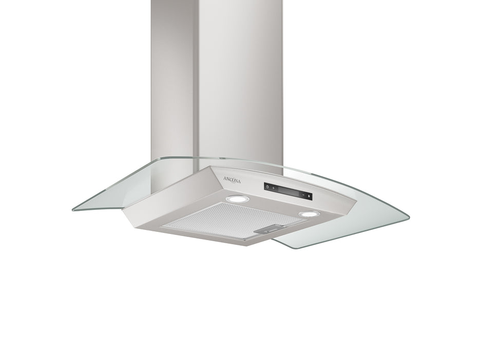 GCD430 30 in. Convertible Glass Canopy 400 CFM Ducted Wall Mount Range Hood