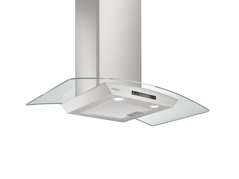 GCD436 36 in. Convertible Glass Canopy 400 CFM Ducted Wall Mount Range Hood