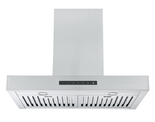 Moderna 30 in. Wall Mount Range Hood in Stainless Steel with Night Light Feature