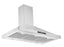 Ancona WPB636 36 in. Wall Mount Pyramid Range Hood in Stainless Steel