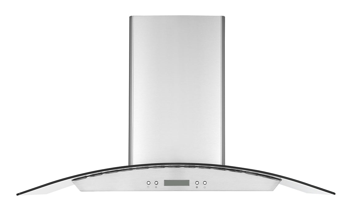 GCHD436 36 in. Glass Canopy Range Hood in Stainless Steel