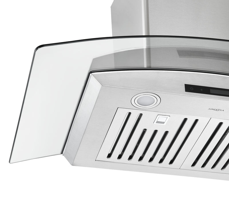 GCB636 36 in. Glass Canopy Range Hood in Stainless Steel