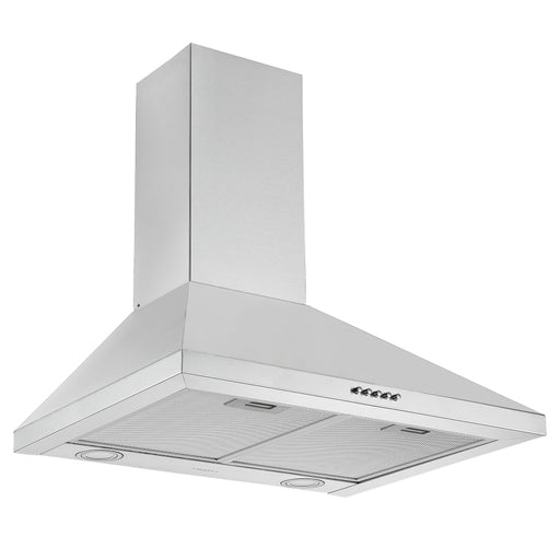 24 in. Convertible Wall Pyramid Range Hood in Stainless Steel