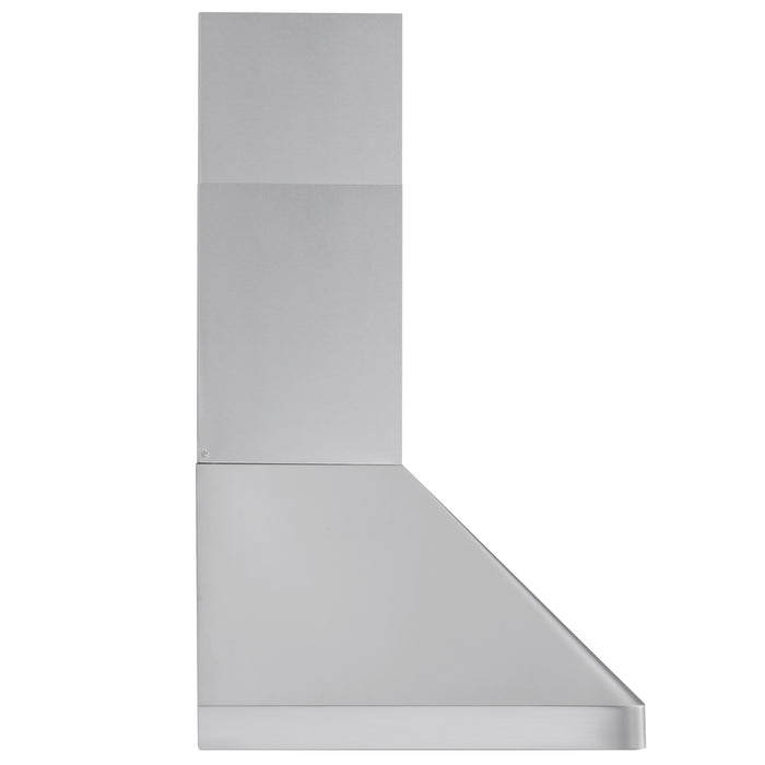 Ancona 36 in. Pro Series 1000CFM Pro Style Ducted Wall Mount Range Hood in Stainless Steel