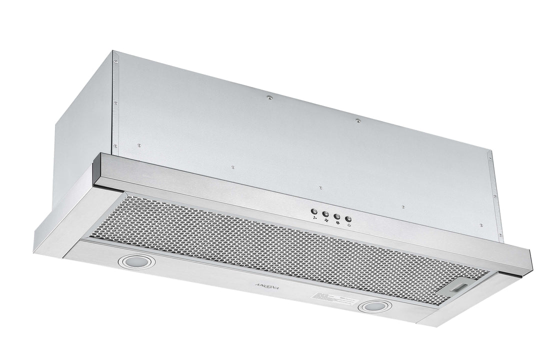 Forte 436 36 in. Slide-out Range Hood in Stainless Steel