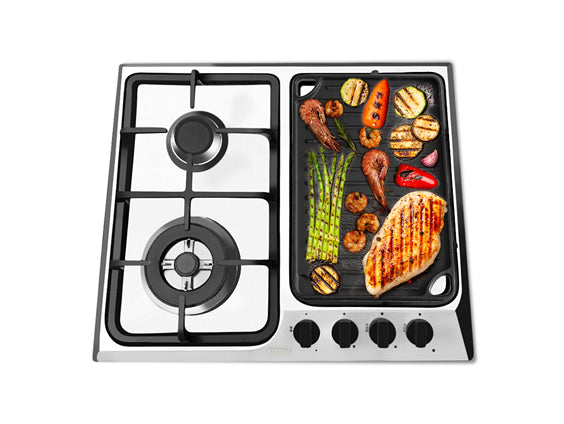 Ancona Elite 24-Inch 4-Burner Gas Cooktop