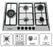 Elite 30 Inch 5 Burner Gas Cooktop