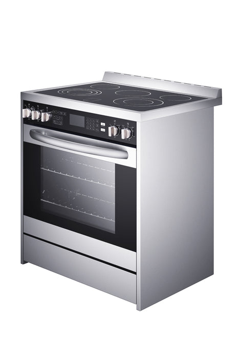Ancona 30 in. Freestanding Electric Range with Convection Oven