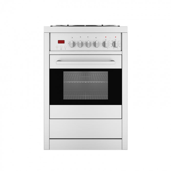 Gourmet 24 in. Dual Fuel with Convection Oven Freestanding Range