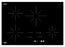 Ancona Chef 30 in. Glass-Ceramic Induction Cooktop in Black with 4 Elements Featuring Individual Boost Function