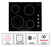 Ancona Select 24 in. European Radiant Ceramic Cooktop