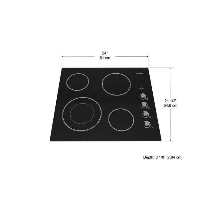 Select 24 in. European Radiant Ceramic Cooktop