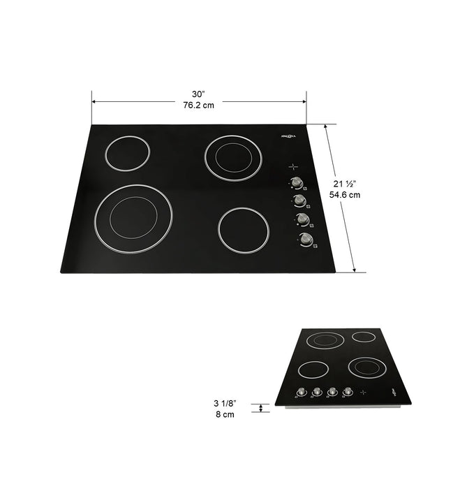 30 in. Select Ceramic Cooktop
