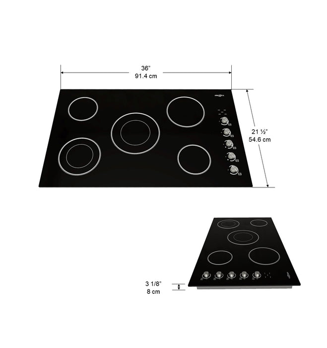 36 in. Select Ceramic Cooktop