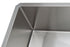 Prestige Series Undermount Stainless Steel 30 in. Single Bowl Kitchen Sink with Grid and Strainer in Satin