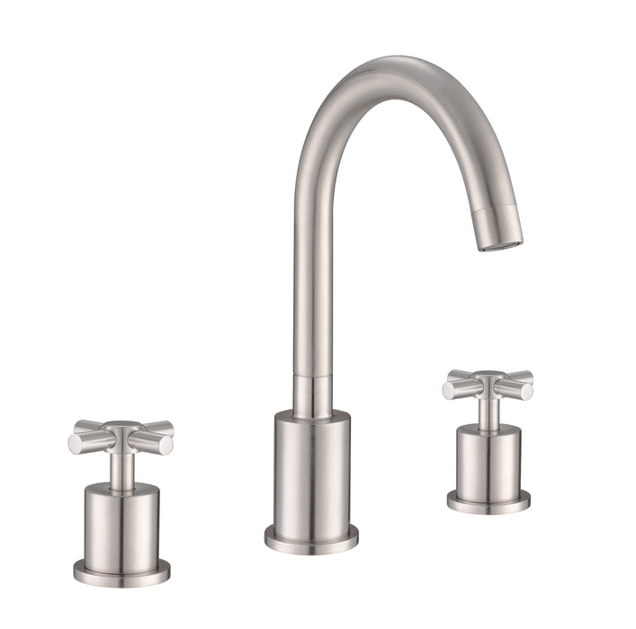 Prima 3 Brushed Nickel Bathroom Faucet