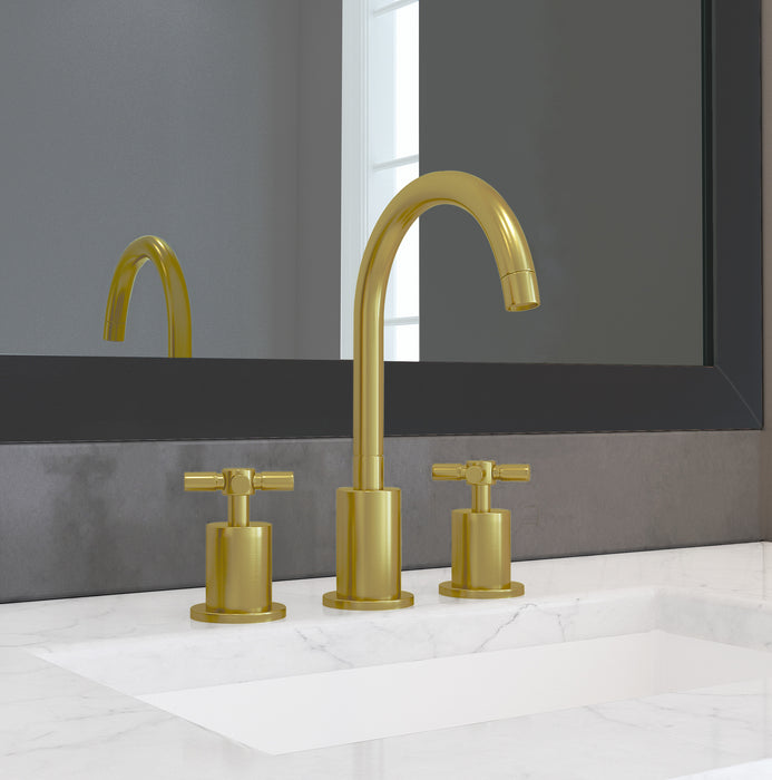 Prima 3 Series Brushed Titanium Gold Bathroom Faucet