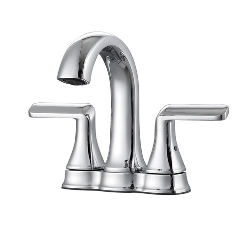 Arezzo Deck Mount Bathroom Faucet in Polished Chrome
