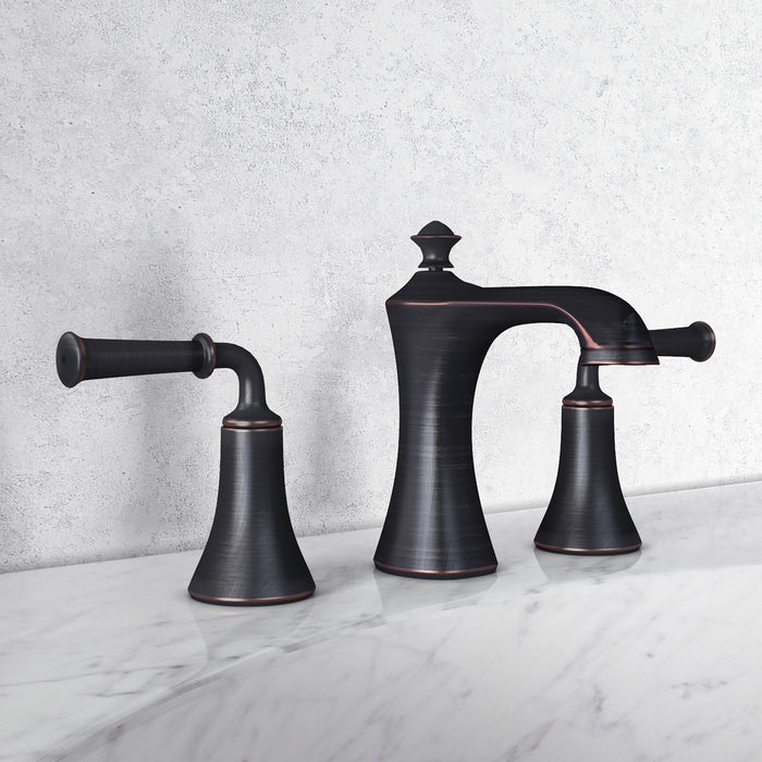 Peonia Widespread Bathroom Faucet in Oil Rubbed Bronze