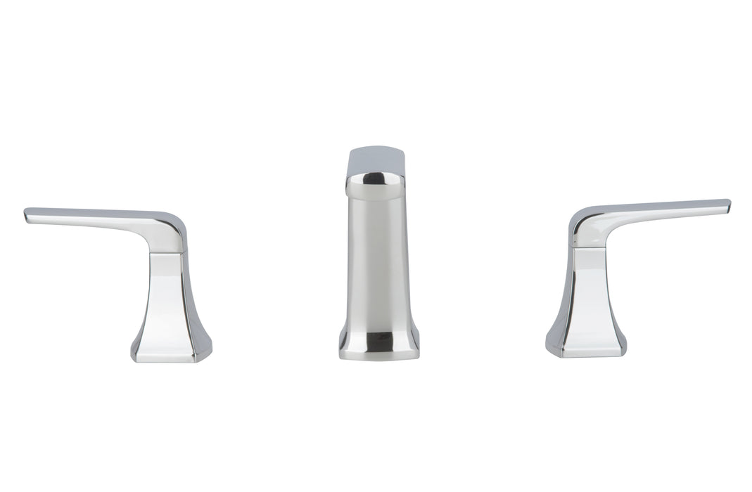 Linea Widespread Chrome Bathroom Faucet