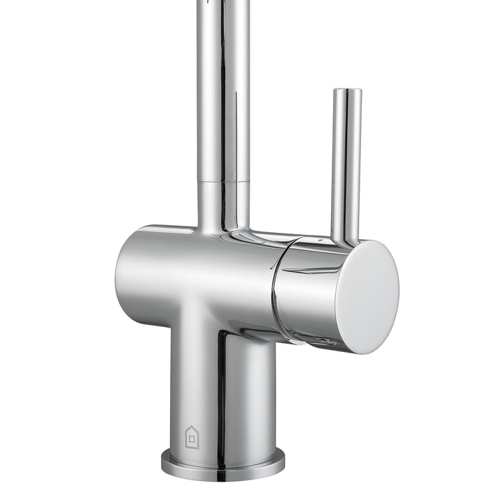Ancona Aria Single-Handle Bathroom Faucet with Chrome Finish