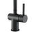 Ancona Aria Single-Handle Bathroom Faucet in Matte Black