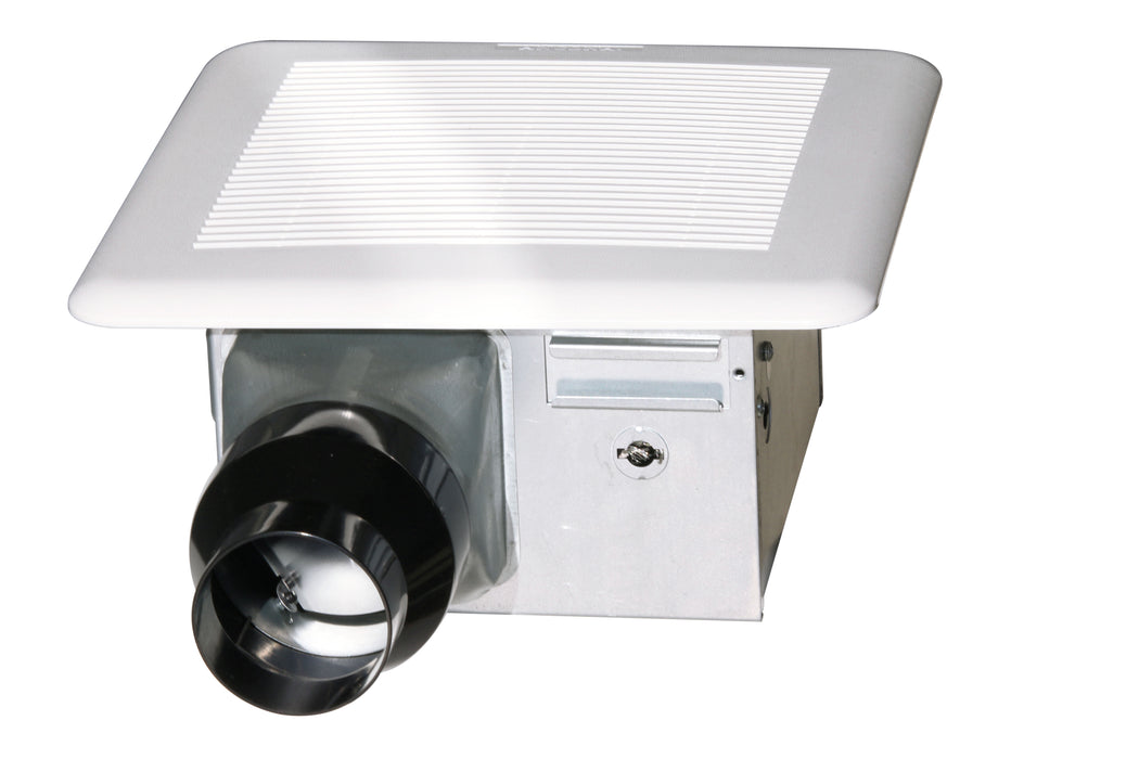Brezza bathroom fan 4 in. or 3 in. duct with reducer