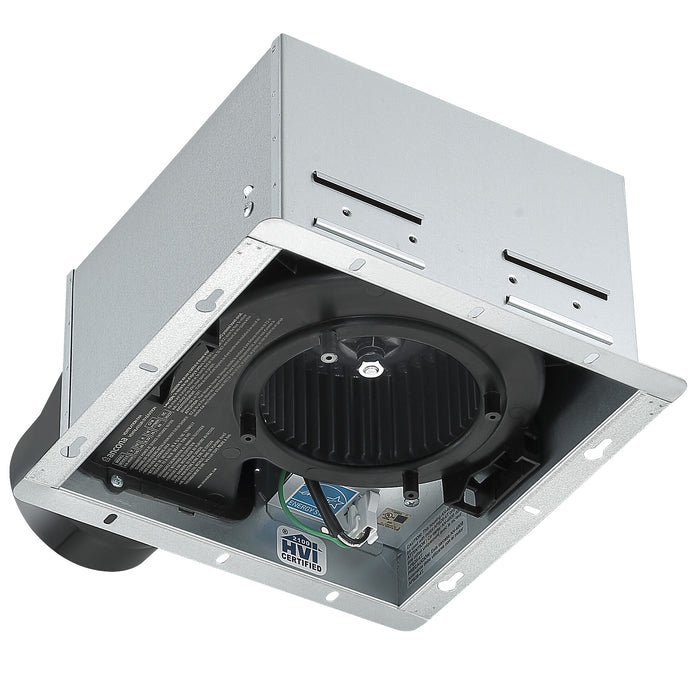 80 CFM Ceiling Mount Roomside Installation Bathroom Exhaust Fan, ENERGY STAR