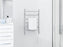 Comfort Dual 6-Bar Hardwired and Plug-in Towel Warmer in Polished Stainless Steel