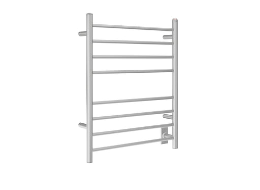 Ancona Prestige Dual 8-Bar Hardwired and Plug-in Towel Warmer in Brushed Stainless Steel