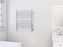 Ancona Prestige OBT 8-Bar Wall Mounted Towel Warmer with Integrated On-Board Timer in Polished Stainless Steel