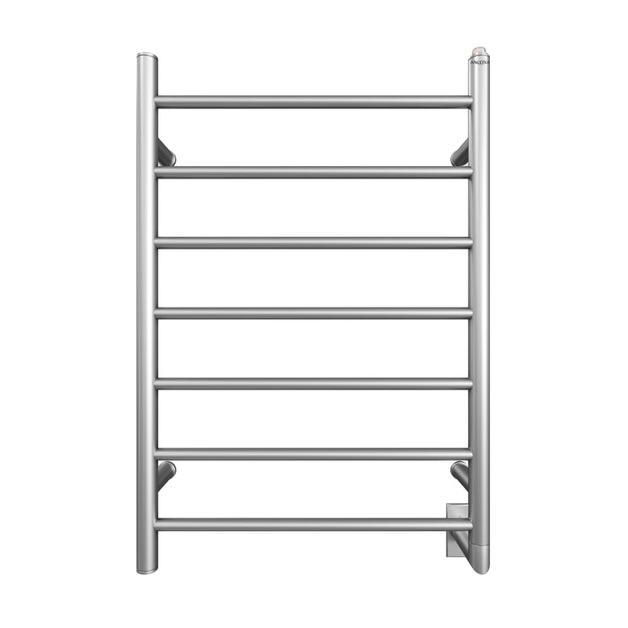 Comfort 7 - 31 in. Hardwired Electric Towel Warmer and Drying Rack in Brushed Stainless Steel