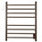 Ancona Prestige Dual 8-Bar Hardwired and Plug-in Towel Warmer in Oil Rubbed Bronze with Wifi Timer