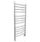 Svelte Rounded 40 in. Hardwired Electric Towel Warmer and Drying Rack in Brushed Stainless Steel
