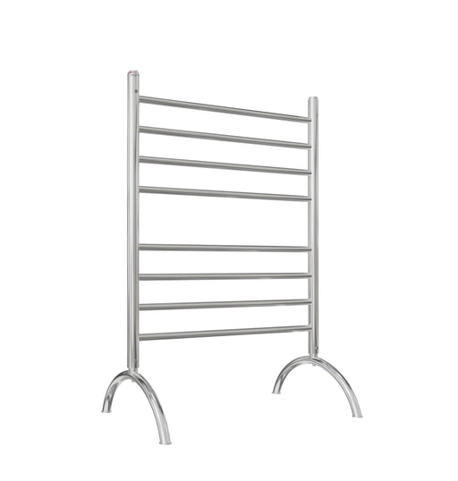 Ancona Essentia 8-Bar Freestanding Towel Warmer in Polished Stainless Steel