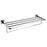 Alessia Chrome Towel Shelf
