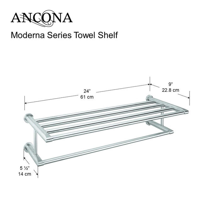 Moderna Series Towel Shelf