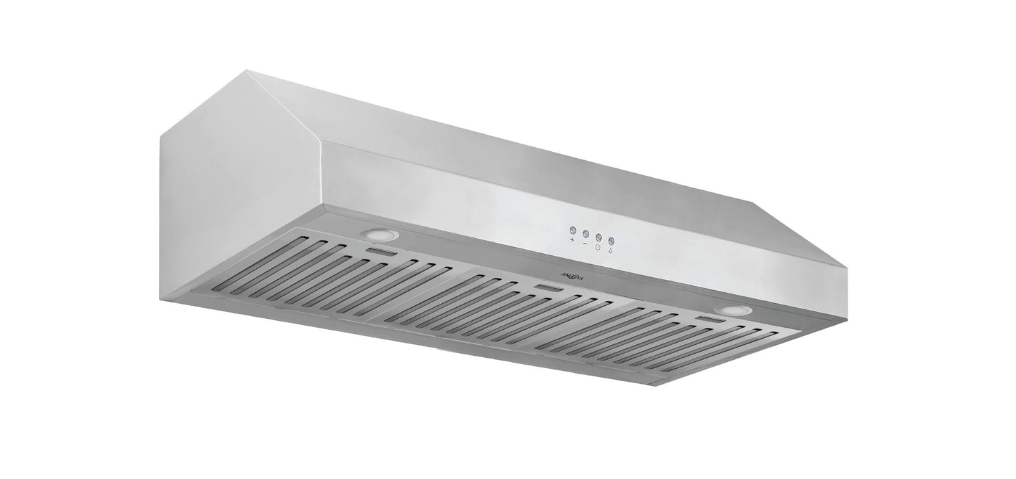 36 in. Ancona Advanta Pro Elite Series Range Hood with 625 CFM and 3-Speed Electronic Controls