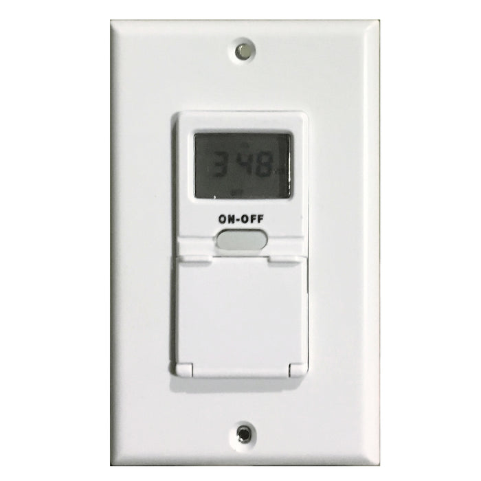 In Wall Digital Timers for Towel Warmers