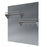 30 in. Stainless Steel Backsplash with two-tiered shelf and rack