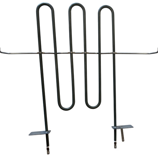 Upper heating element for built-in oven