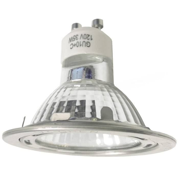 GU10 Light Bulb with Ring retainer