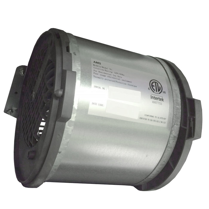 Blower wheel for range hood motor